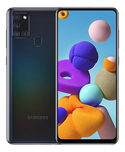 Imagen 1 de 6 de Samsung Galaxy A21s 128 Gb Negro 4 Gb Ram
