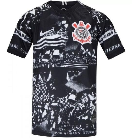 Nova Camisa Corinthians Invasões 19/20 P/ Entrega 12x Juros