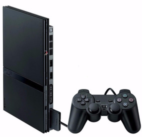 Playstation 2 Slim + 2 Controles