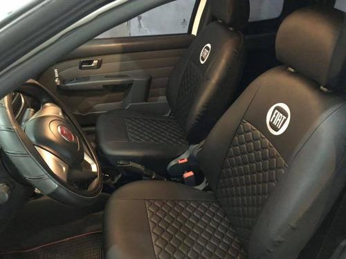 Cubreasiento Fiat Way  Cuero Ecologico Capitoneado