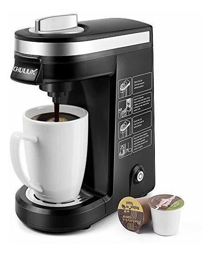 Chulux Cafetera Electrica Personal 12 Onzas 800 Watts