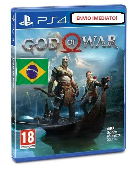 God Of War Ps4 Psn Original 1º Em Português...