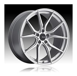 Rueda / Llanta Advanti Racing Hybris 17 Silver 5x115 Con Una
