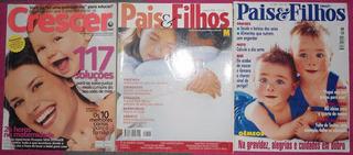 Lote De Revistas Crescer E Pais E Filhos Antigas
