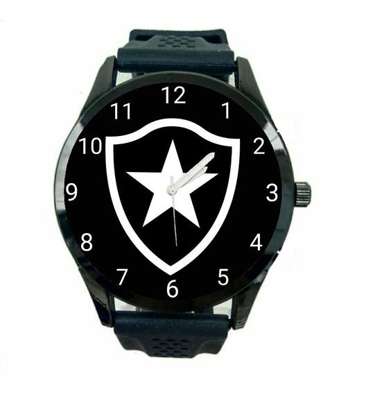 Relógio Botafogo Masculino Futebol Time Esporte Jogo Novo Escudo Promoção T8
