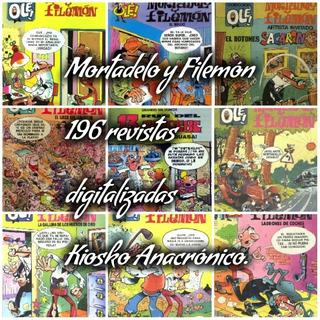 Mortadelo Y Filemon Antiguas Revistas Digitalizadas.