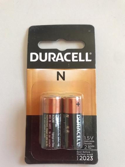 Cartela Bateria Duracell E90 Lr1 M9100 Importada 2 Unidades