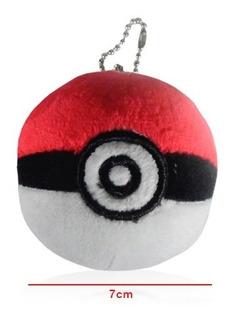 Pokemon Go Peluche Llavero Pokebola Pokeball 7cm