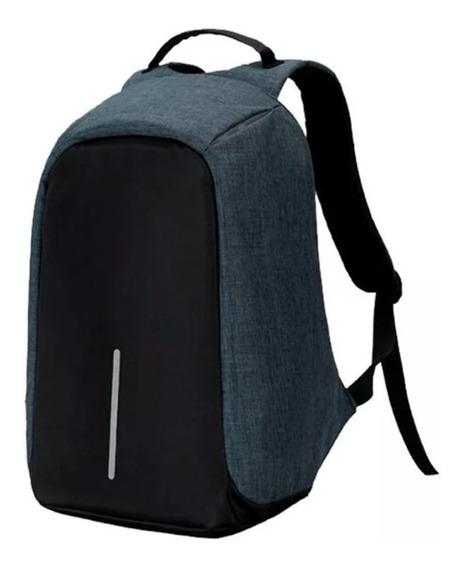 Mochila Antirrobo Smart Usb Notebook Tablet Celular Calidad