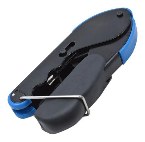 Alicate Terminador De Compressão Rg 59 E Rg 6 9ku - Eda 9ku