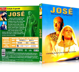 Dvd José Do Egito O Favorito De Deus 1995