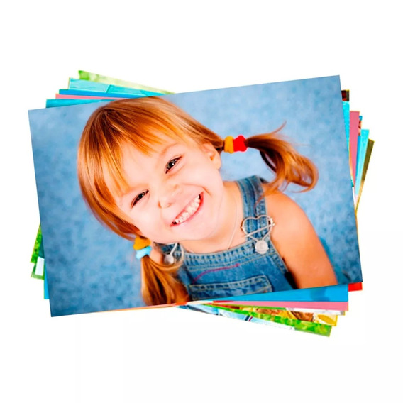 500 Fls Papel Fotografico Glossy 180g Super Oferta