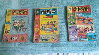 Almanaques Disney Nos. 1, 2 E 5. Ver Anúncios E Fotos.