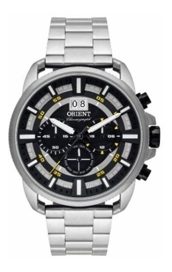 Relógio Orient Xl Masculino Clássico Cronografo Mgssc203