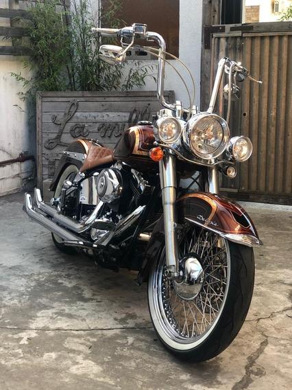 Harley Davidson Softail En La Milla Del Diablo
