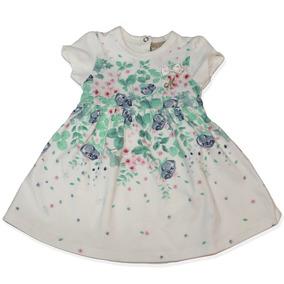 Vestido Branco Floral Com Body Milon