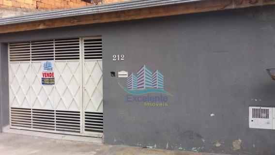 Casa Com 2 Dormitórios À Venda, 70 M² Por R$ 276.000 - Vila Real Continuaçao - Hortolândia/sp - Ca0590