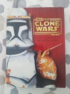 Star Wars The Clone Wars Tem Uno Edición Limitada Dvd Usado