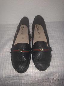 Zapato Tipo Mocasín Imitacion