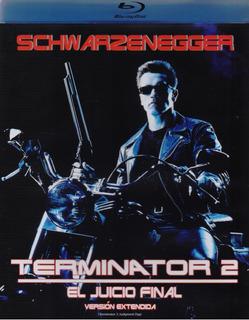 Terminator 2 El Juicio Final Arnold Schwarzenegger Blu-ray
