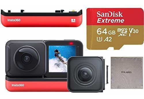 Cámara De Acción Insta360 One R Edición Doble (cámara 360 +