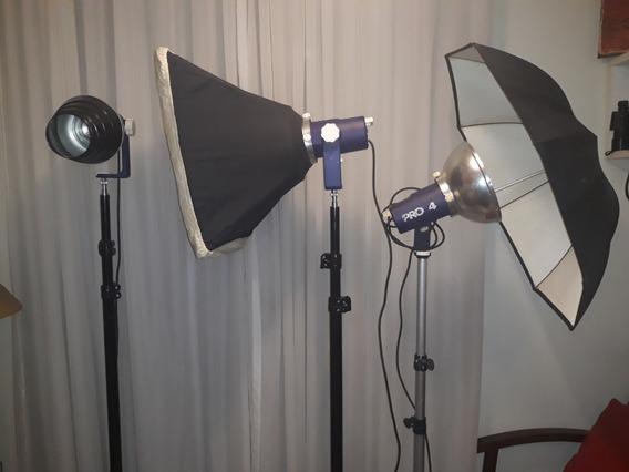 Kit Iluminação Estúdio Fotográfico