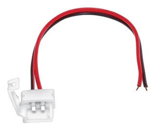 Conector Tira Led 1 Color Prensa 8mm X Unidad Prensa A Cable