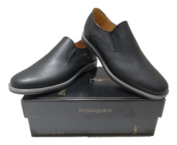 Zapatos Tipo Nauticos Yves Saint Laurent Hombre Oferta Local