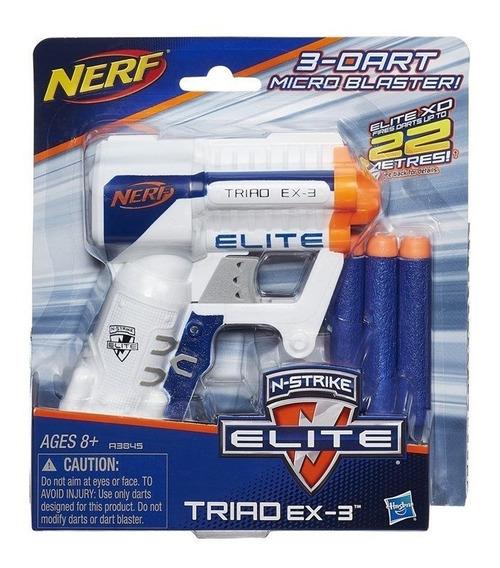 Lançador Nerf Elite Triad - Hasbro A3845