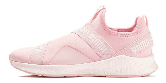 Tênis Energy Star Slip On Rose Treino Feminino Original