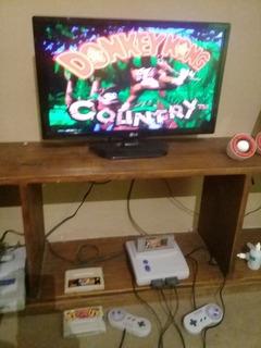 Consola Super Nintendo Con Muchos Juegos