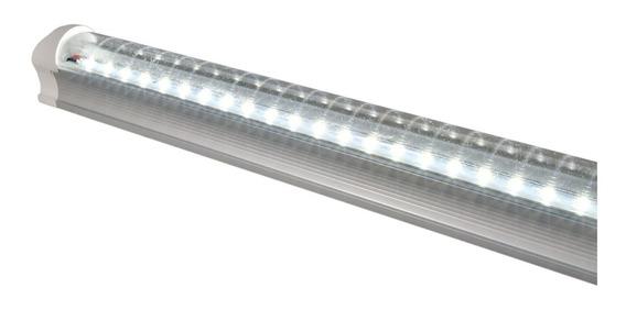 10 Lampara Tubo Led Techo 18w T8 Plastico C/accesorios /e