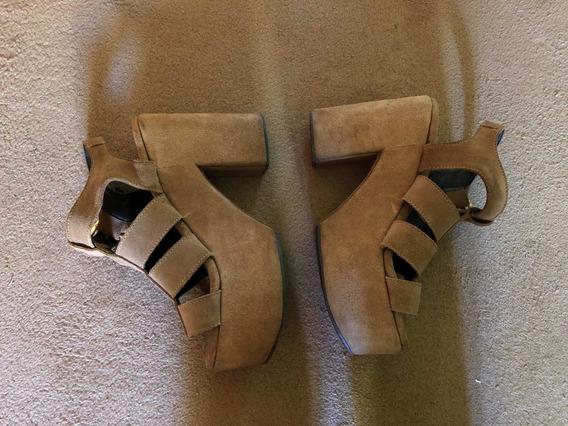 Zapatos Con Plataforma Sofía De Grecia Talle 37