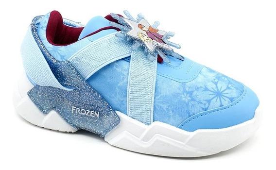 Tênis Infantil Frozen 22224 Grendene Azul