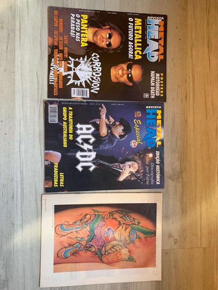 Revistas Metallica - Metal Head Coleçao Com Avarias
