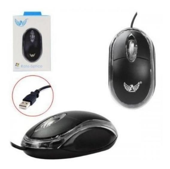 Mouse Óptico Para Pc Notebook Usb Universal Com Fio Original