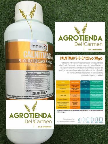 Fertilizante Calcio Y Magnesio Abono Agrícola Foliar