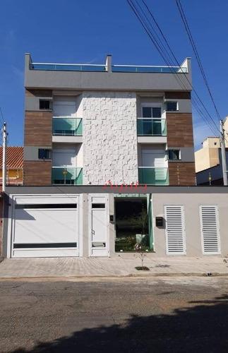 Cobertura À Venda, 50 M² Por R$ 395.000,00 - Parque Jaçatuba - Santo André/sp - Co0702