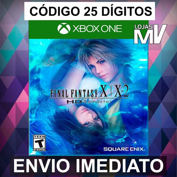Final Fantasy X/x-2 Hd Remaster Xbox One Codigo 25 Digitos