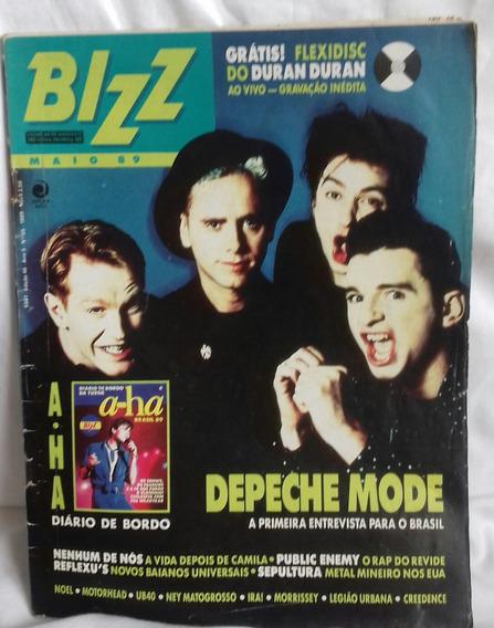 Revista Bizz - Depeche Mode Na Capa - Maio 89 Raríssima 46