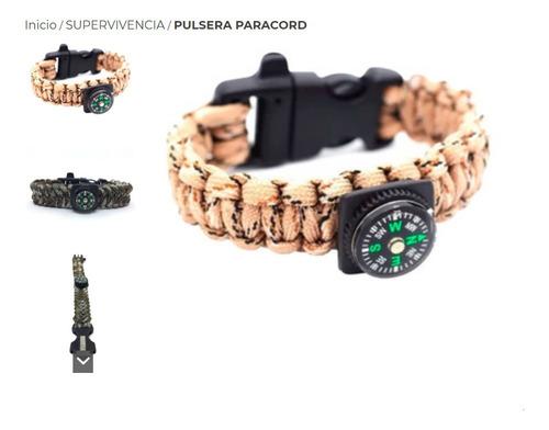 Pulsera Paracord