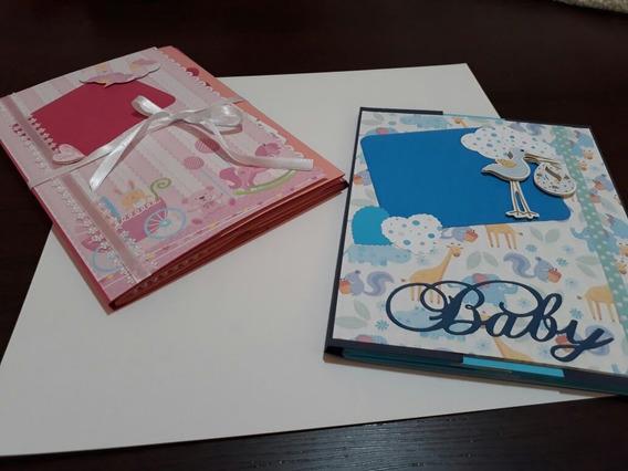 Álbum Bebê Scrapbook - Fotos E Recordações
