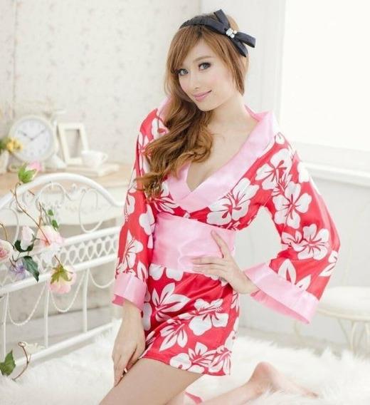 Kimono Japonês , Robe,sexy Fantasia,