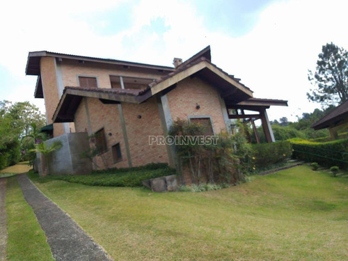 Imagem 1 de 30 de Casa Com 5 Dormitórios À Venda, 476 M² Por R$ 2.850.000,00 - Patrimônio Do Carmo - São Roque/sp - Ca18669