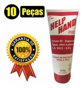 10 Creme Para Maos Protetivo Henlau Help Hand Grupo 3