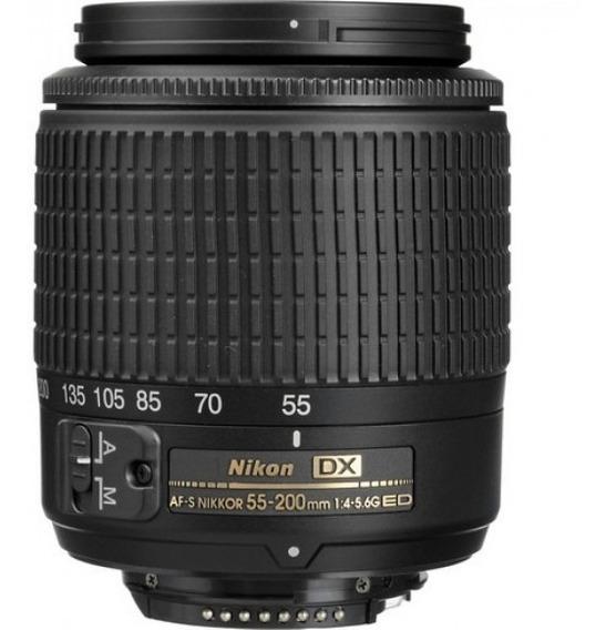 Lente Nikon Af-s Dx Nikkor 55-200mm F/4-5.6g Ed