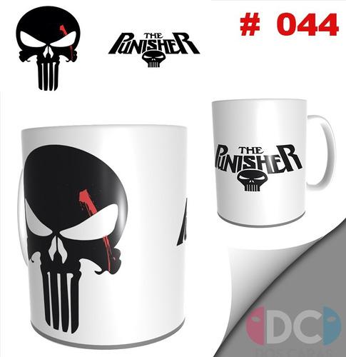 Taza Comics Coleccionable Punisher Castigador - Marvel # 044