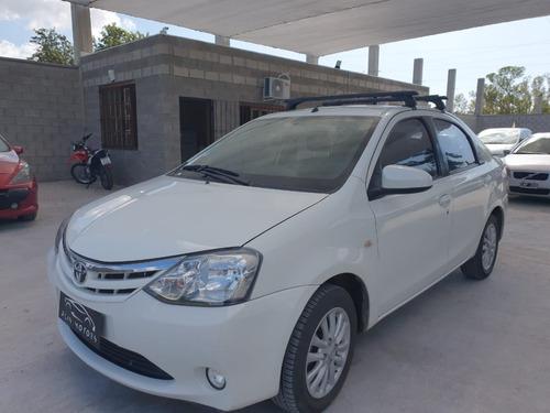 Toyota Etios Xls Mod14 Anticipo$750.000 + Cuotas Fijas.
