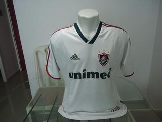 Camisa Do Fluminense adidas / Unimed 2003 # 10 - ( 664 )