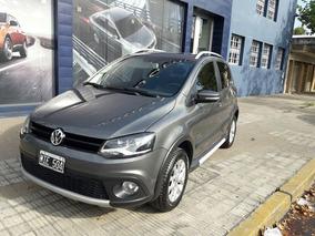 Volkswagen Crossfox 1.6 Trendline 2013 Gris Oscuro 72.300km